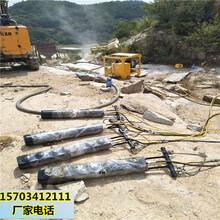 怒江不用放炮能开采矿山设备破石棒视频参数图片