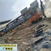 房屋基坑巖石溝渠開挖破堅硬石頭機械臨夏圖片