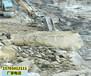齊齊哈爾挖坑道破巖石不能放炮分石機