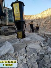 清远石料厂有人用劈裂棒开采石头吗效果怎么样终身服务图片