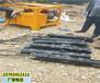 佳木斯基坑巖石破除不讓放炮破碎石頭機械