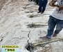 赤峰市矿场不允许爆破劈石头劈裂棒简单操作