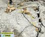 滁州市道路擴建破石頭機器劈石產量高貨到付款