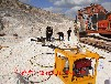 阿拉尔矿山开挖坚硬岩石劈裂器-炮锤产量低