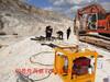 江北采石場礦山不能爆破用什么提升采礦效率-隧道掘進機械