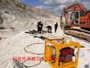 漳州取代放炮取代膨胀剂静态破裂岩石机械隧道掘进机械