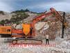 嘉興礦山開采快速破硬石頭的機械設備裂巖機