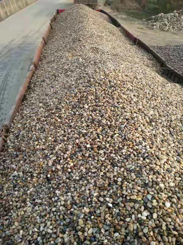 荣成鹅卵石天然鹅卵石滤料 水处理垫层天然鹅卵石滤料