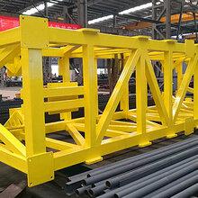 中国山东三维钢构-格构式钢结构柱加工对外贸易西班牙