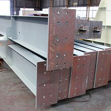 中国山东三维钢构-箱形钢柱焊接加工防腐对外出口