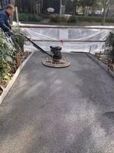 南川厂家直售无砂混凝土生态地坪工程图片