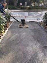 河东厂家直销透水混凝土胶结剂生态地坪工程图片