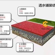 长治生产厂家透水混凝土增强剂生态地坪工程图片