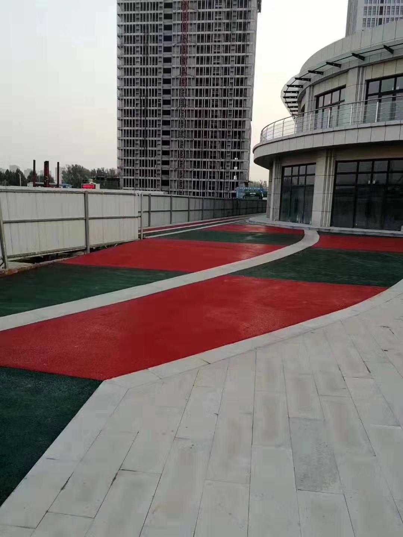 宁波生产厂家透水混凝土增强剂生态地坪工程