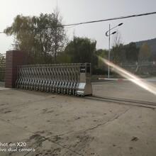 泰安肥城不銹鋼電動門廠家直銷圖片