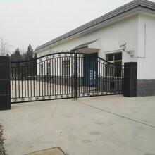 聊城莘縣小區電動門安裝售后及時圖片