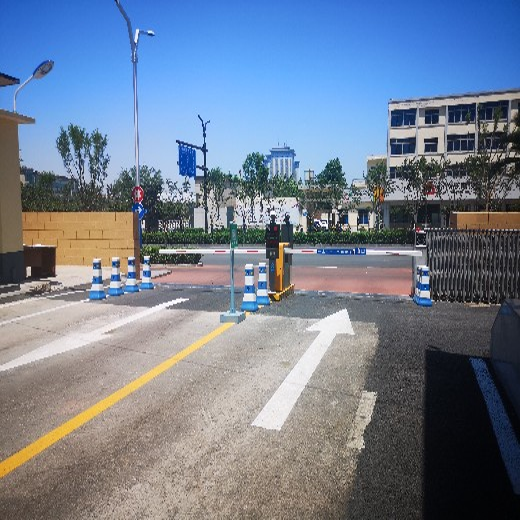 坊子區小區道閘車牌識別系統支付