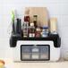 多功能厨房置物架厨房调味品整理收纳盒