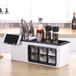 塑料壁掛式調味品收納架調料盒價格采購/批發