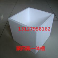 耐高溫聚四氟一體槽特氟龍10LpTFE槽耐腐蝕高溫槽四氟槽圖片