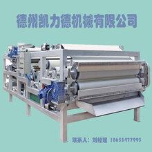 高效带式压滤机污泥干排设备煤泥压滤机尾矿干排设备图片
