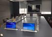 会议桌桌牌升降器无?#20132;?#20250;议液晶屏触控升降器