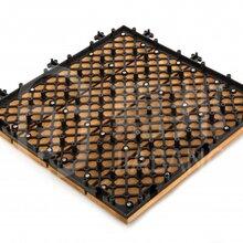 佛山格利扣防腐防水拼接式实木地板300300mm地板INS4P3030PH1批发直销