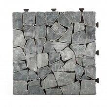 佛山格利扣系列洞天石材地板TTLNP-GY-YL耐磨防水庭院地板厂家批发300300mm图片