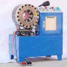 高压胶管缩管机钢管对接机厂家液压胶管压管机大棚镀锌管扣管机