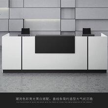 廠家直銷屏風隔斷鋼架桌電腦桌椅老板桌前臺圖片