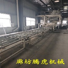 th廠家出售水泥基勻質板設備液壓式勻質板生產線圖片