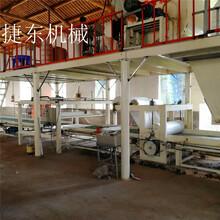 廠家供應全自動玻鎂板生產線玻鎂板制板機門芯板設備圖片