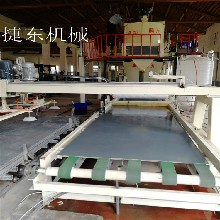 供应玻镁板制板机玻镁防火板设备防火门芯板设备保质保量图片