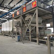 硅质聚苯板设备水泥基匀质板设备匀质板生产线图片