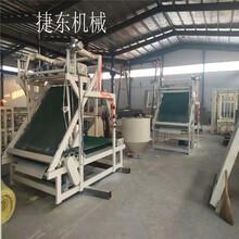 保温棉收卷机玻璃棉贴箔机打卷机自动化生产设备图片