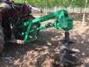 种树挖坑机地钻打眼挖窝机耐磨工程钻孔机三农种树挖坑机生产厂家