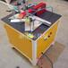 氣動型材切割機鋁合金切角機45度氣動切角機木材鋁材門窗邊框型材切割機