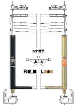 日本NEWSTAR中心吊重型门隐藏式合页门轴HC-35T