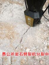 禁止爆破把石头开裂设备-源头工厂)行业报告水富图片