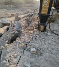 地基工程硬石头挖机破碎锤打不动用什么红树林彩票APP旺苍图片