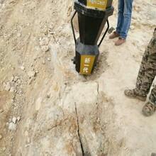 不让用诈药爆破采石场有什么机械替代四川自贡图片