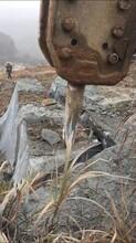 锦屏现场工地凿岩破裂机图片