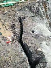 石头很硬打不动不能爆破有什么好办法劈裂棒循环使用