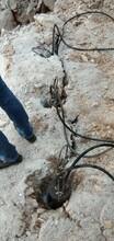 洞下开采破石设备用哪款机器好用破石开采案例图片