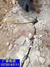 挖河道沟渠石头破拆岩石开挖设备一帮您带来高利润图片