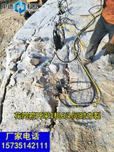 不能放炮矿山开采用什么方法产量高一破碎岩石厉害图片