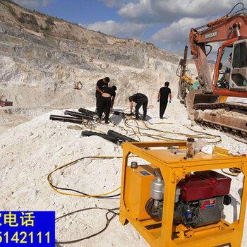 壁山采石场不用放炮就可以开采岩石的机器一帮您带来高利润