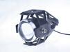 改裝摩托車LED燈超亮爆閃大燈U5激光炮外置