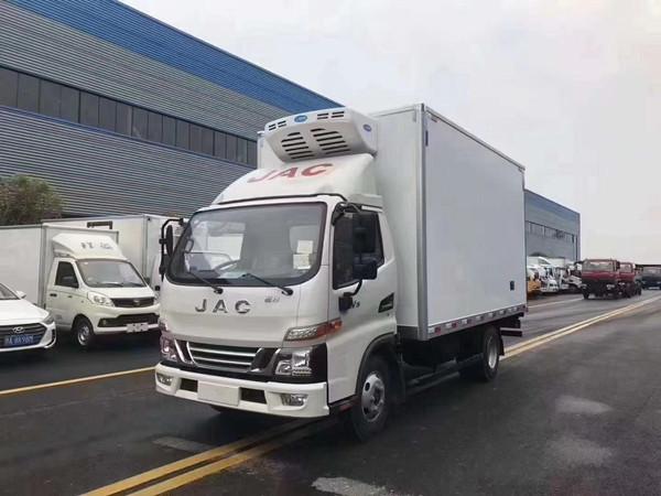 乌海S5欧马可冷藏车配置