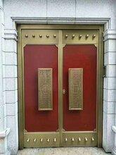 西安铜门小产品大展现铜门与其他门的区别图片